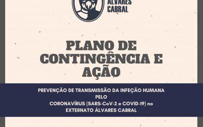 PLANO DE CONTINGÊNCIA E AÇÃO PARA PREVENÇÃO DE TRANSMISSÃO DA INFEÇÃO HUMANA PELO CORONAVÍRUS (SARS-CoV-2 e COVID-19) NO EXTERNATO ÁLVARES CABRAL