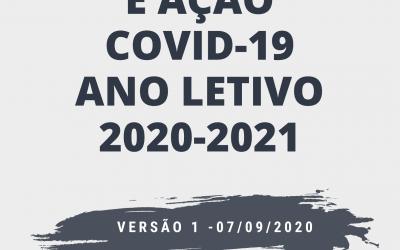 Plano de Contingência e Ação Covid-19. Ano letivo 2020-2021