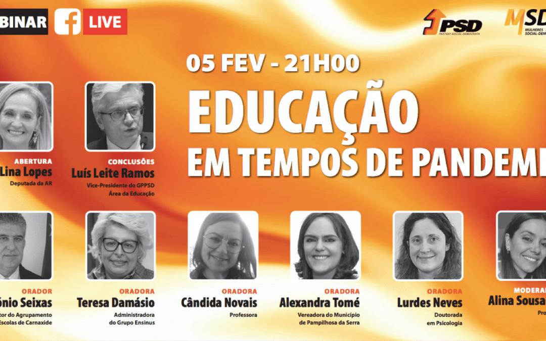 EDUCAÇÃO EM TEMPO DE PANDEMIA