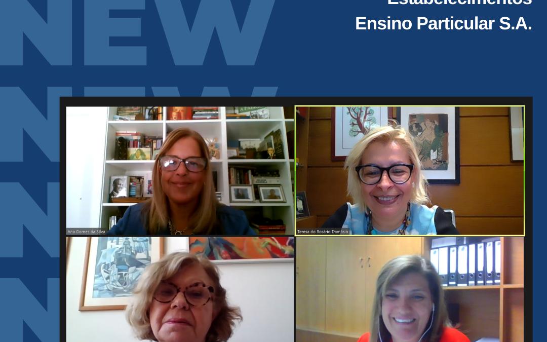 Reunião de Conselho de Administração da EEP, Ensinus Estabelecimentos de Ensino Particular – Entidade Tutelar das Escolas EPET, EAC e EMP